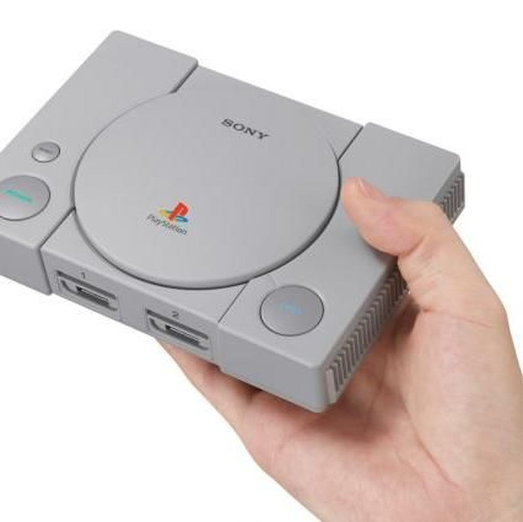 Dijebol, PlayStation Classic Bisa Mainkan Game dari Flash Disk