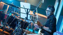 Aksi Irwan Prayitno Jadi Drummer Saat Sambut Tim Ekspedisi APPSI