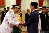 Zulkieflimansyah dilantik Jokowi hari ini.