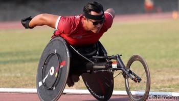 Terkendala Alat, Atlet Difabel Cabang Atletik Tetap Berlatih
