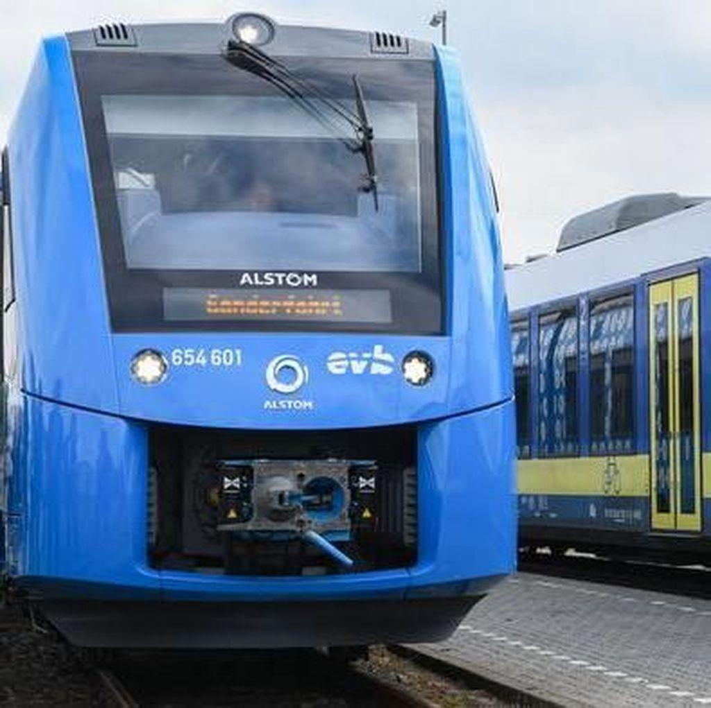 Kereta Hidrogen Pertama di Dunia Meluncur di Jerman