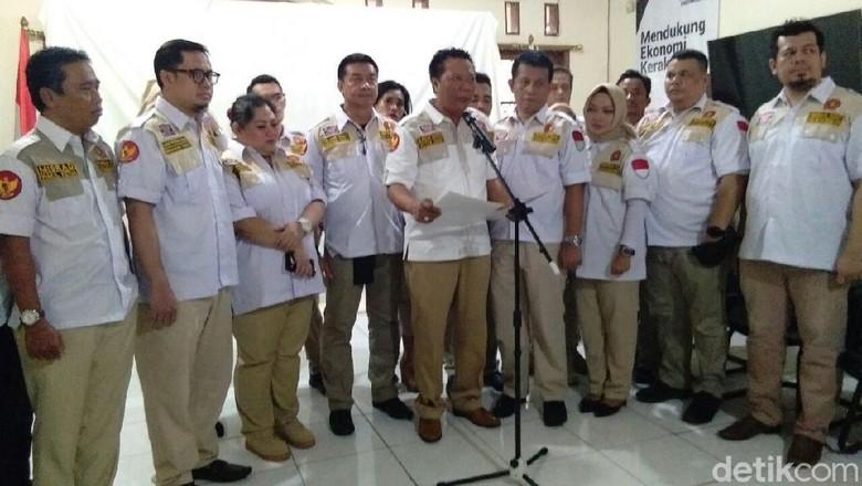 Relawan Satria Deklarasi Dukung Prabowo-Sandiaga