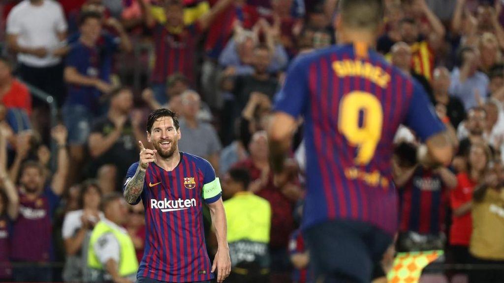 Momen Penobatan Messi Jadi Raja Hat-trick Liga Champions