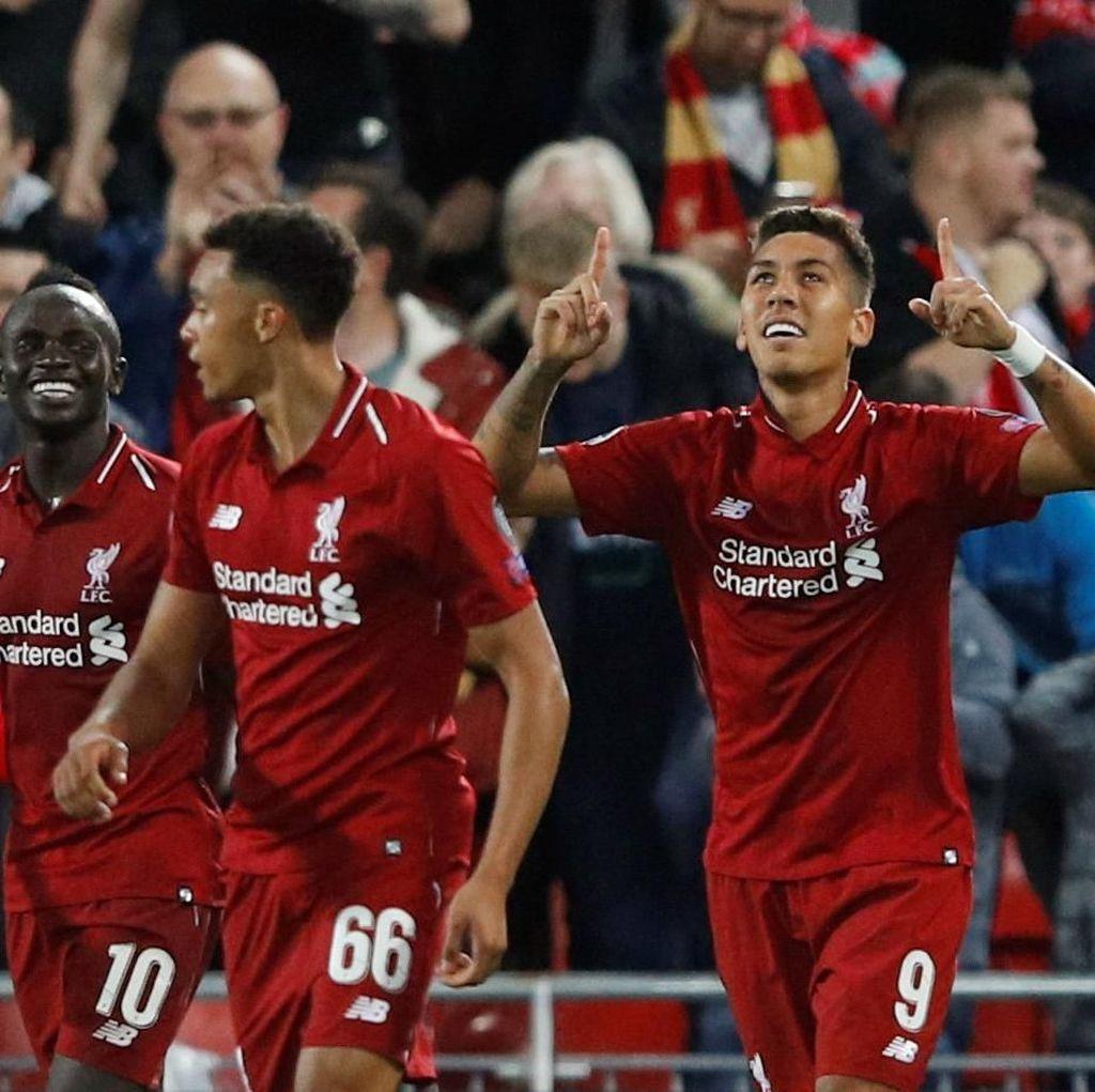 Hasil Liga Champions: Dramatis! Liverpool Kalahkan PSG 3-2