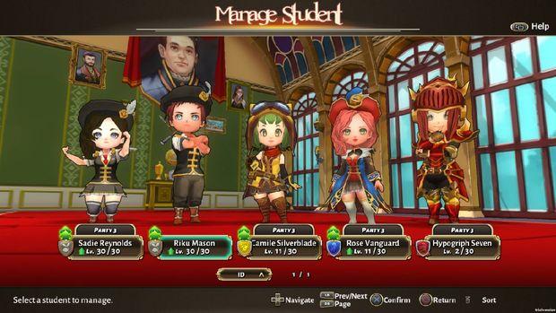 Game Indonesia Layak Tunggu: Valthirian Arc: Hero School Story
