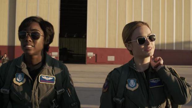 Brie Larson sebagai Carol Danvers alias 'Captain Marvel'