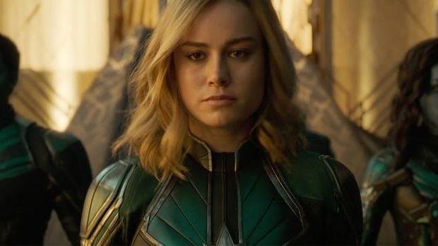 10 Bayangan Plot 'Captain Marvel' di Balik Trailer Perdana