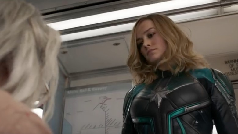 Poster Terbaru Captain Marvel Rilis, Bakal Disusul Trailer Baru