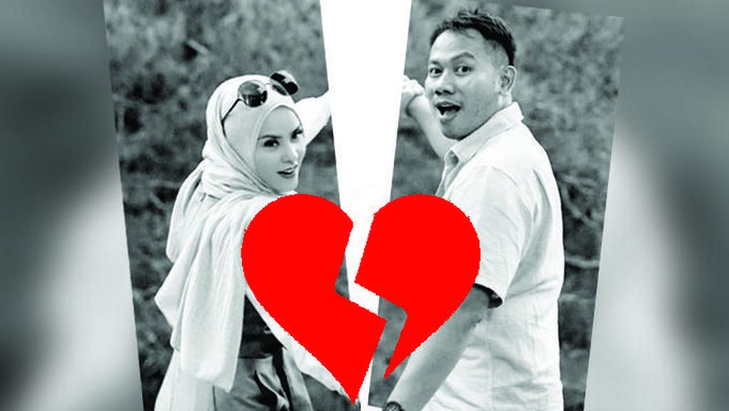 Melihat Lagi Kemesraan Vicky Prasetyo dan Angel Lelga