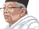 Soal Makam, Maruf Amin Mengaku Dikalahkan Bang Ali Sadikin
