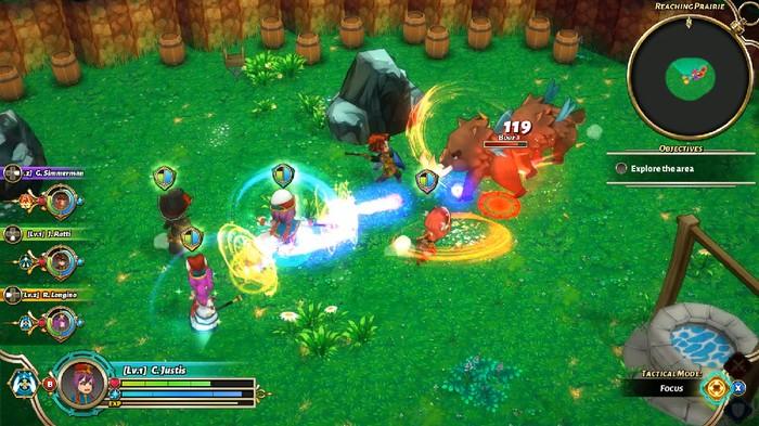 Valthirian Arc: Hero School Story, sebuah game produksi dari Agate. Foto: dok: Agate