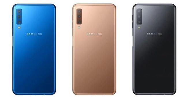 Galaxy A7 2018 Punya Tiga Kamera Belakang