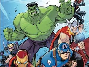 Komik Marvel Action: Avengers Siapkan Tim Kreatif