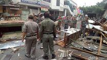 PKL yang Kerap Bikin Macet Jalan Raya Bogor Ditertibkan