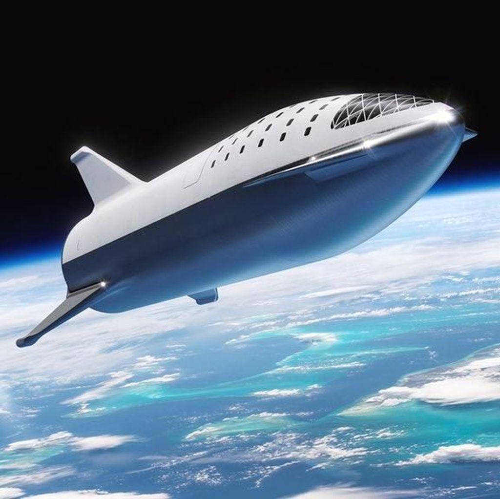 Roket Terkuat Sejagat SpaceX Punya Nama Baru