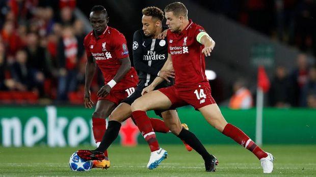 Duel Liverpool vs PSG berakhir dengan skor 3-2 untuk The Reds.