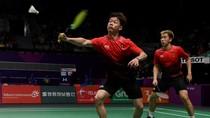 Kevin/Marcus Lolos Perempatfinal China Terbuka