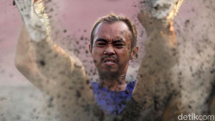 Setiyo Budihartanto  bertekad menuai medali emas di Asian Para Games 2018. (Agung Pambudhy/detikSport)