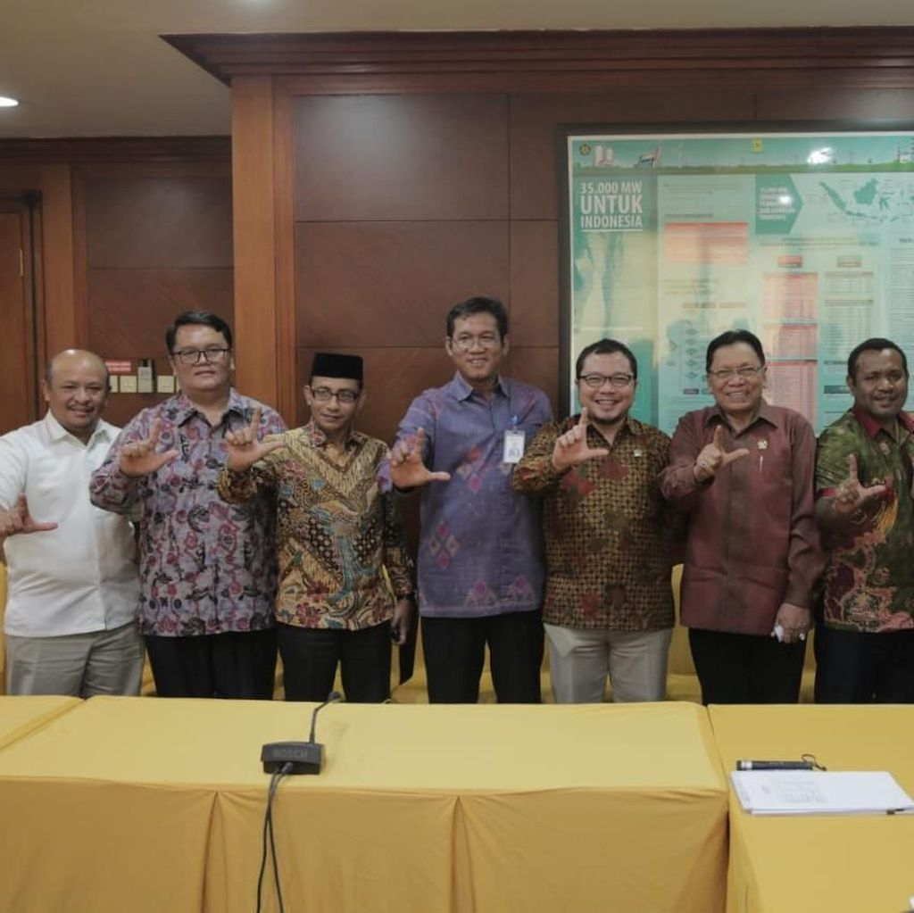 Rapat dengan PLN, DPD RI Dorong Terwujudnya Elektrifikasi Daerah 99%
