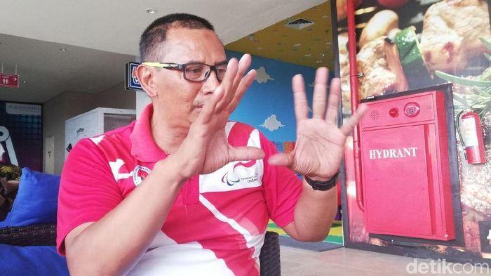 Puspita Mustika Adya, pelatih pelatnas para-cycling (Mercy Raya/detikSport)