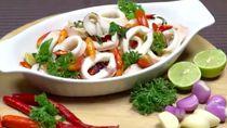 Resep Cumi Pedas Kemangi, Olahan Seafood dengan Cara Baru Nih