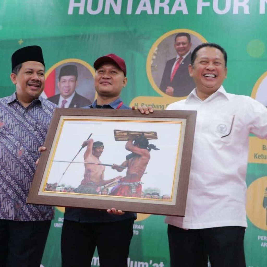 DPR Gelar Expo Peduli Huntara for NTB