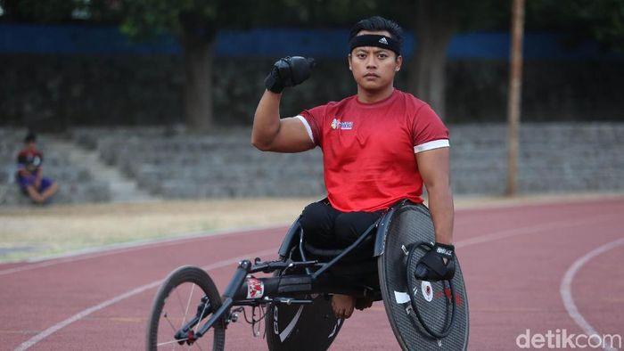 Doni Yulianto jadi andalan Indonesia di Asian Para Games 2018 (Agung Pambudhy/detikSport)