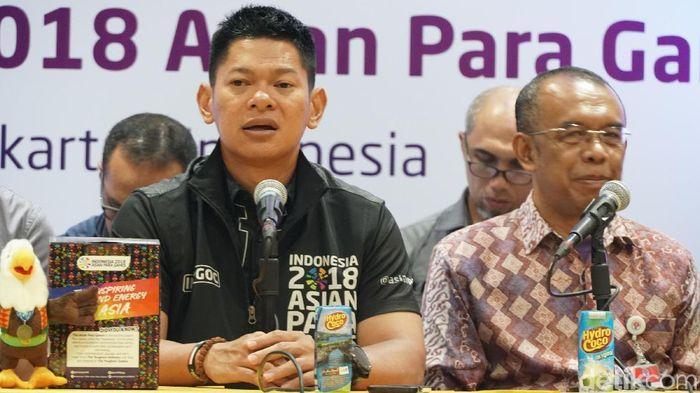 Peralihan aset dari INASGOC ke INAPGOC yang tidak berjalan mulus menghambat kesiapan venue menyambut Asian Para Games Foto: Femi Diah/detikSport
