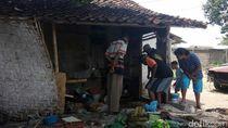 Rumah Dilalap Api, Pasutri Manula di Banyuwangi Ini Terbakar