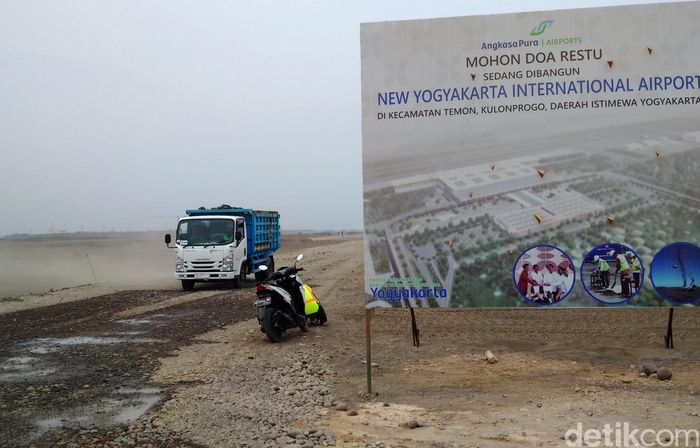 Proyek Bandara Kulon Progo dikerjakan oleh PT Pembangunan Perumahan KSO.