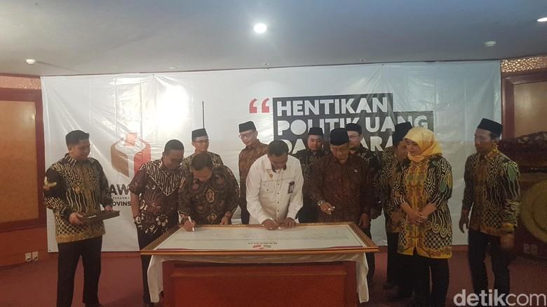 Bawaslu dan Peserta Pemilu di Banten Sepakat Anti Politik SARA