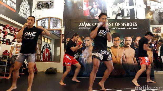 Jelang Duel ONE Championship, Naito dan Pacio Gelar Latihan Terbuka