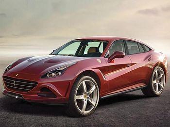 SUV Pertama Ferrari Ini Disapa Purosangue