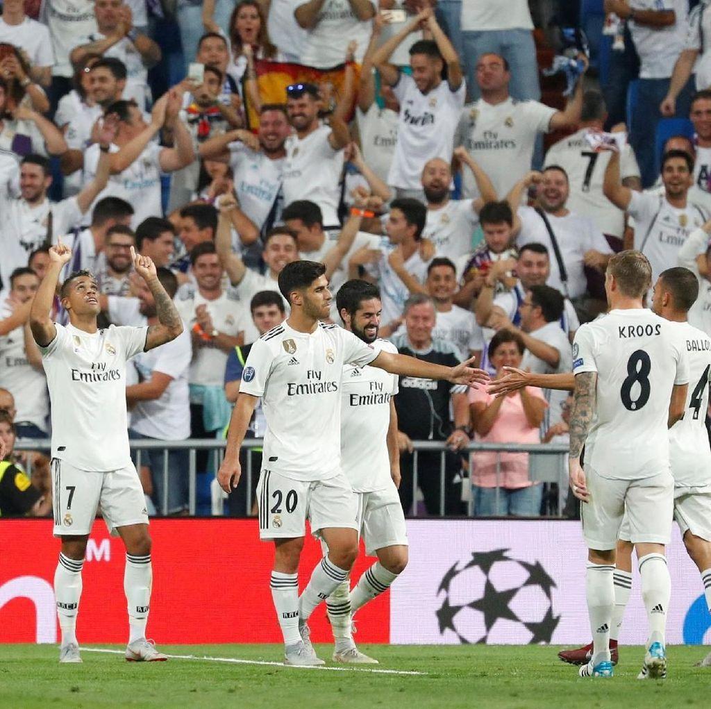Awal Mantap Real Madrid di Liga Champions