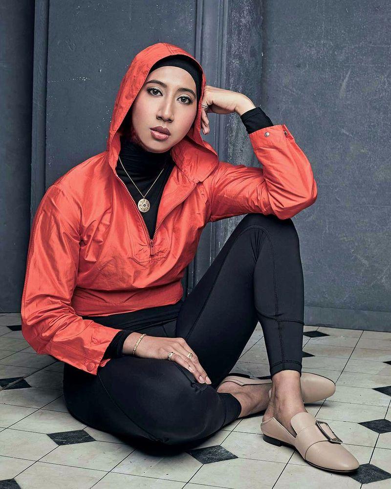 Kenalan dulu yuk sama instruktur fitnes berhijab asal Malaysia, Ain Ramli (ainramli/Instagram)