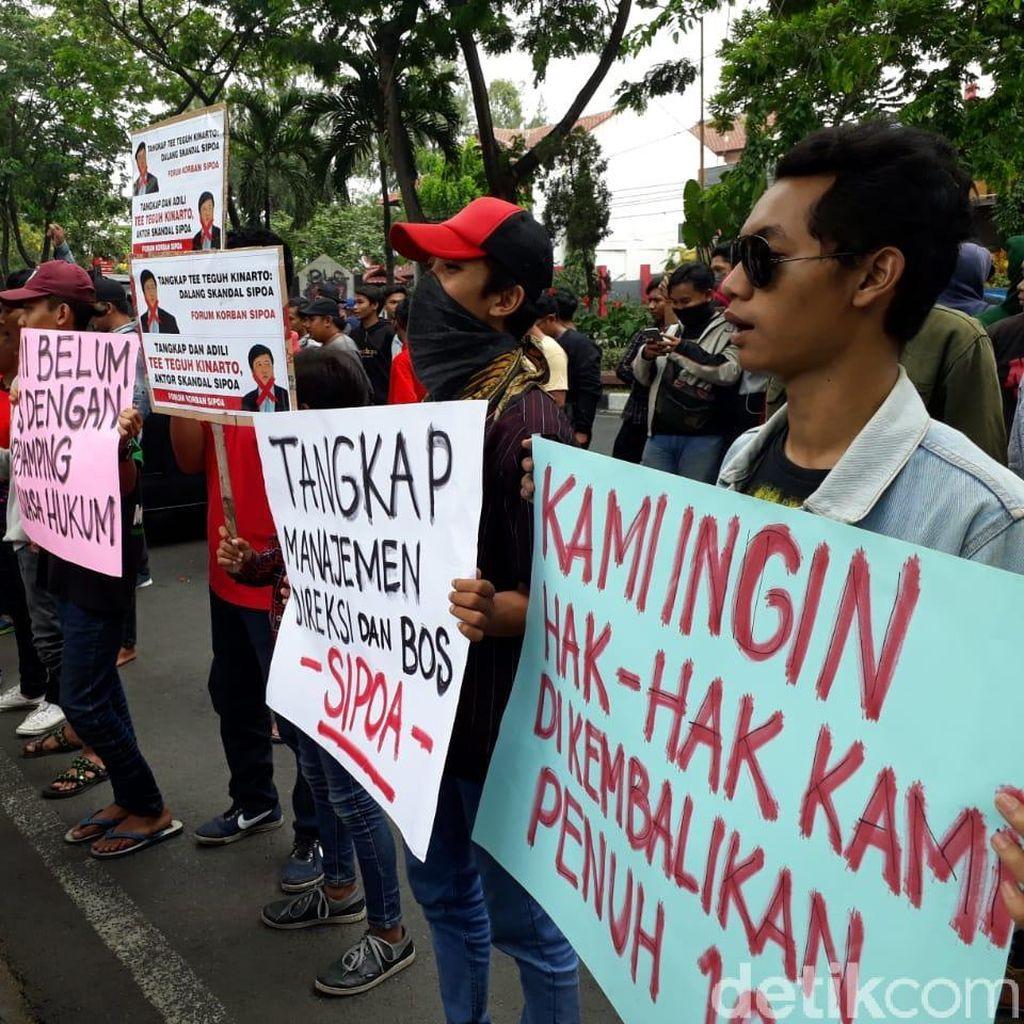 Korban Sipoa Kembali Gelar Aksi, Tuntut Kasusnya Dituntaskan