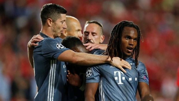 Bayern Munich meraih kemenangan di matchday pertama Liga Champions.