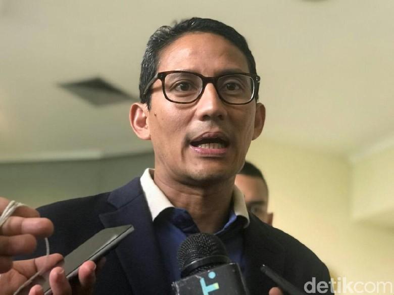 Ketum Kadin Dukung Jokowi, Sandiaga Singgung Persoalan Ekonomi