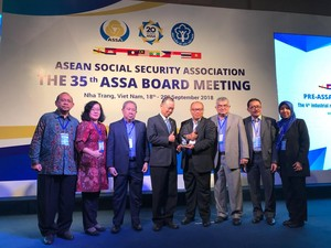 Aplikasi BPJSTKU Raih Penghargaan ASSA Recognition Award di Vietnam