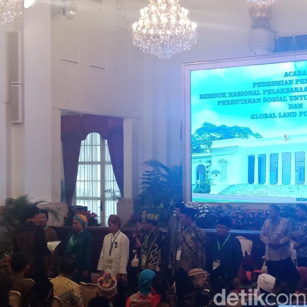 Jokowi Buka Rembuk Nasional Reforma Agraria