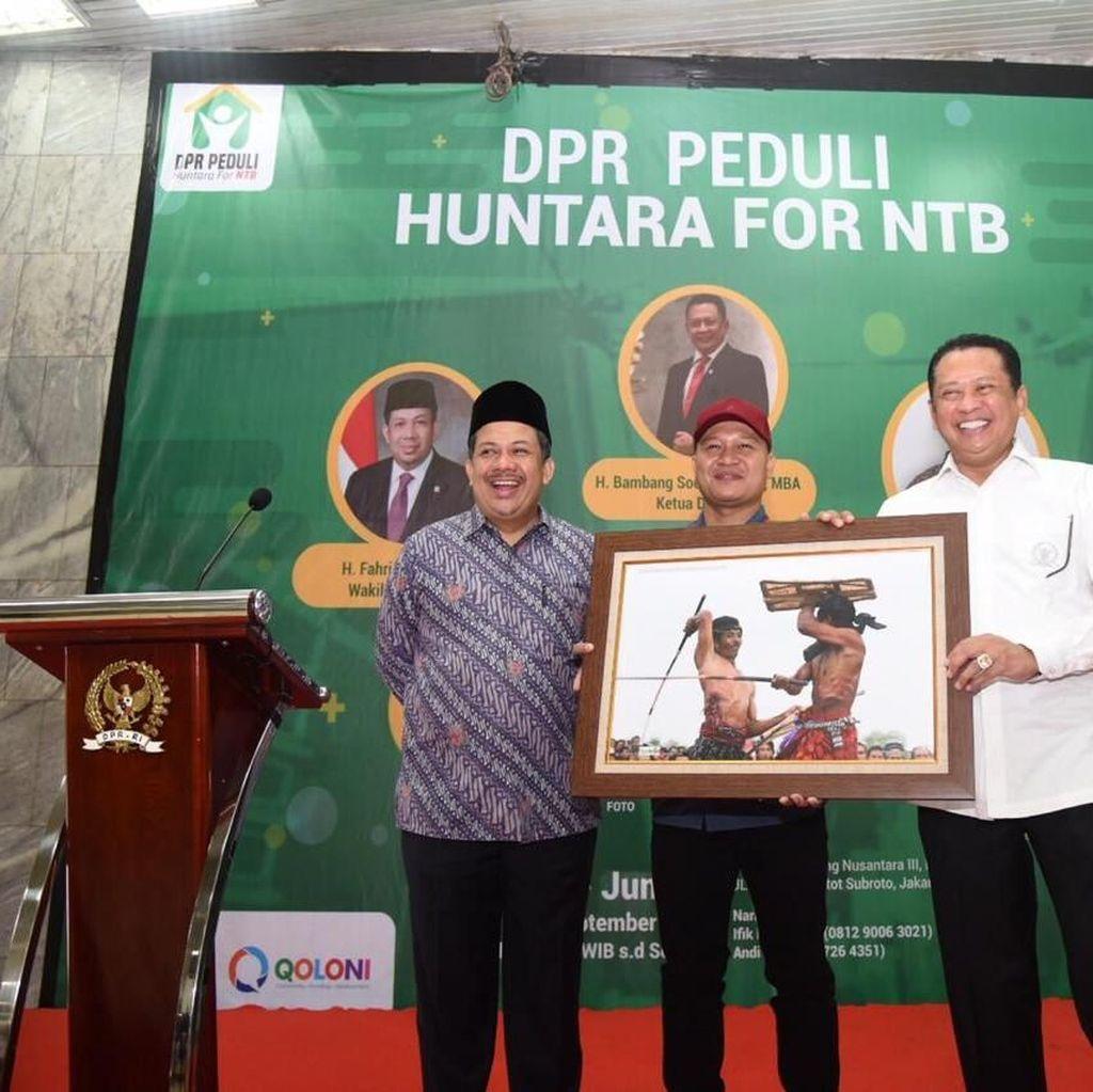 Ketua DPR: NTB akan Bangkit, Rakyat akan Kembali Sejahtera