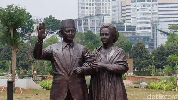 7 Patung Presiden di Hutan Kota GBK, Mirip Nggak dengan Aslinya?