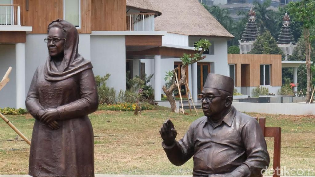 Cerita Purjito Didatangi Gus Dur dan Soeharto saat Bikin Patung Presiden