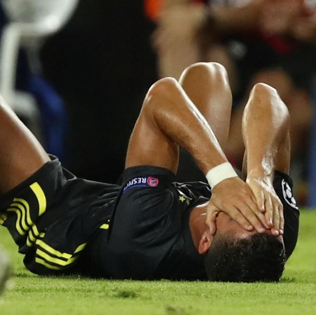 Kartu Merah Pertama Cristiano Ronaldo di Liga Champions