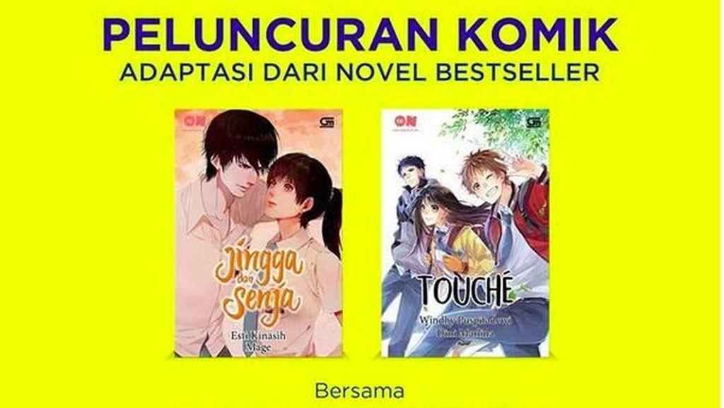 Novel Jingga dan Senja Esti Kinasih Diadaptasi Jadi Komik