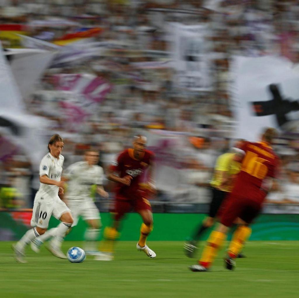 Dominasi Madrid Bikin Roma Putus Asa
