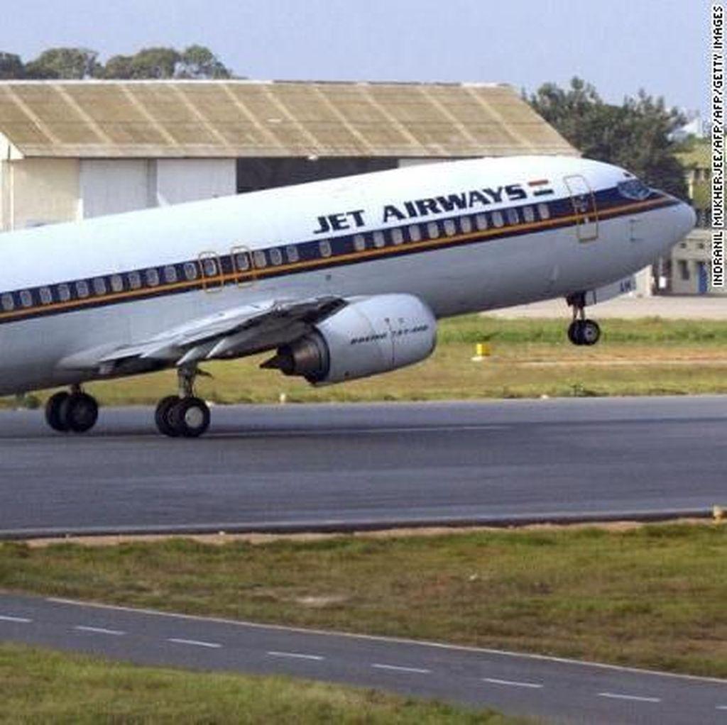Utang Menumpuk, Maskapai India Jet Airways Bangkrut