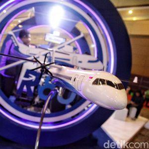 Prototipe Pesawat R80 Rancangan Habibie Mulai Dibuat 2019