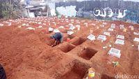 Makam-makam baru yang disiapkan