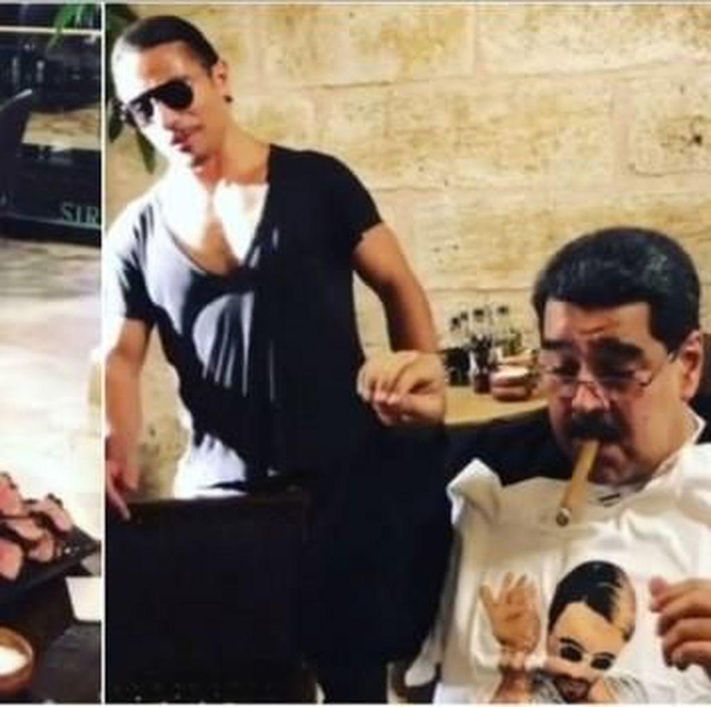 Layani Presiden Venezuela, Restoran Salt Bae Dapat Ulasan Buruk